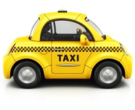 icono taxi ingles